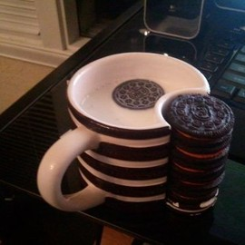 Oreo Cookie Holder Mug