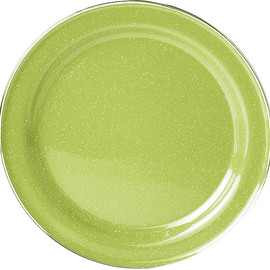 GSI Outdoors - Enamelware Dinner Plate 10in Green