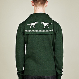 JIL SANDER - Caped Camel Blend Whale Knit