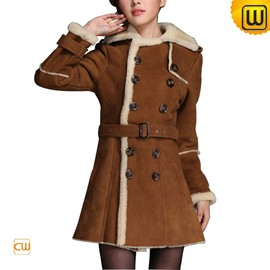 CWMALLS - Double Breasted Women Coat - JACKETS.CWMALLS.COM