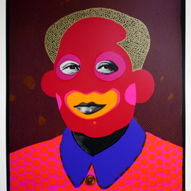 Paul Insect - How now clown Mao (Gold Hair)