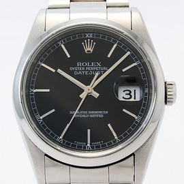 ROLEX - DATEJUST ref.116200 blackdial