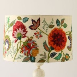 Anthropologie - Needlework Garden Shade
