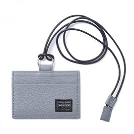 "HEAD PORTER - ""LUCCA"" PASS CASE GREY"