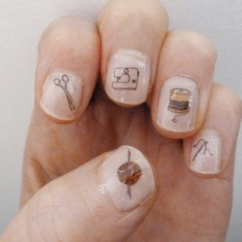 Kate Broughton - CRAFT NAIL STICKERS