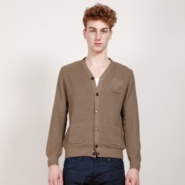 Chauncey - Cotton corded rib cardigan