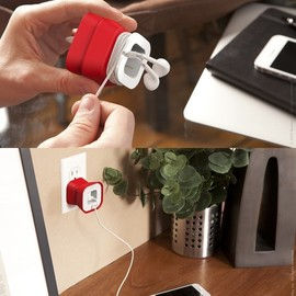quirky - PowerCurl Mini - iPhone powercurl earbud organizer
