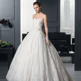wishesbridal - Sweetheart Church Ball Gown Bridal Wedding Dress