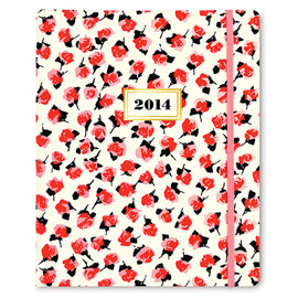kate spade NEW YORK - 2014 kate spade new york 17 month agenda - rose