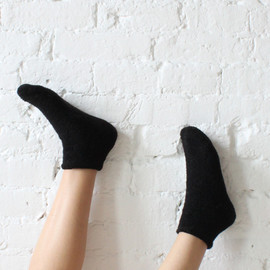 Base Range Buckle Wool Socks Black