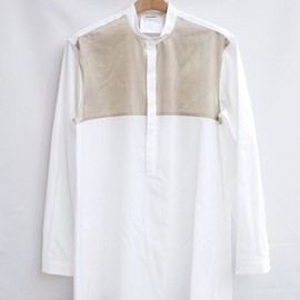 DIGAWEL - STAND UP COLLAR SHIRT