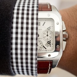 Cartier - Santos 100 XL Steel Chronograph