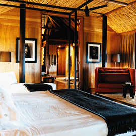 Christian Liaigre - François Nars's Bedroom, his house in Polynesia