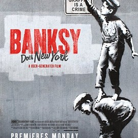 Chris Moukarbel - Banksy does New York