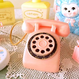Pink Toy Telephone ピンクトイテレフォン