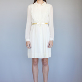 KAREN WALKER - Sea Goam Dress