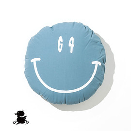 grn - 60/40 CUSHION BLANKET ROKUYON(BLUE)