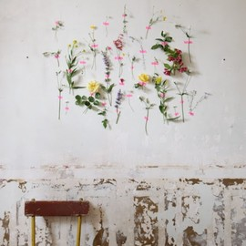 Floral wall art.