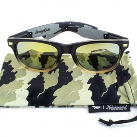 Benny Gold, Knockaroung - Fog Camo Sunglasses