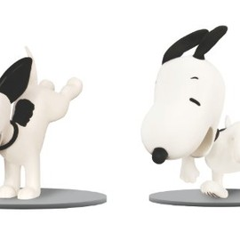 Snoopy Then and Now Figure Set