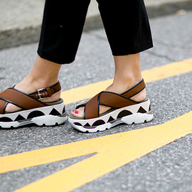MARNI - wedge sandals