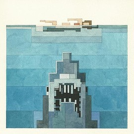 Adam Lister - JAWS limited edition archival print edition of 200