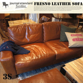 ACME - FRESNO LEATHER SOFA