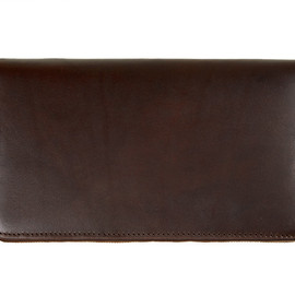 Whitehouse Cox - S1760 Clutch Purse-Derby Collection-Brown×Tan