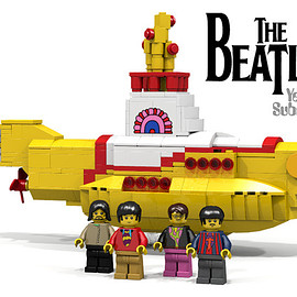 LEGO - Beatles Yellow Submarine