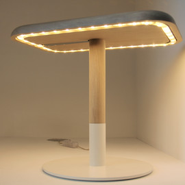 Goodbye Edison - W01 Wood LED Lamp
