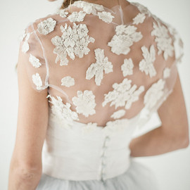 chavianocouture  - Jean- Lace Bolero on tulle