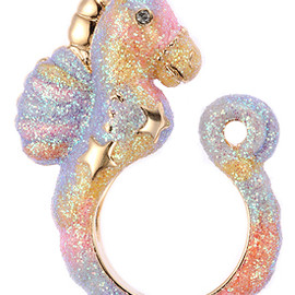 Coach Chain Princess Mermaid Ring