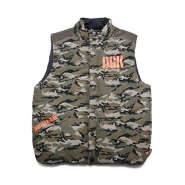 DGK - ASSAULT REVERSIBLE VEST (Camo)