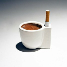Tomorrow Lab - Solo E Sola Espresso & Cigarette Cup