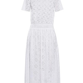 VALENTINO - SS2015 Sangallo-lace midi dress