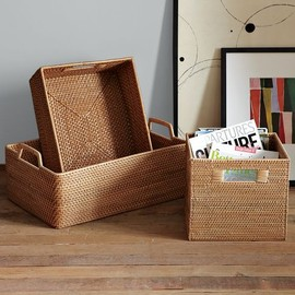 west elm - Modern-weave Storage