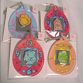 Tamagotchi - Tamagotchi pin badge seven set new goods