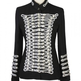 Silver Line Balmain Style Double-breasted Coat