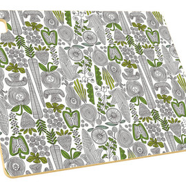 Epicurean - Dessiner Series Board Veggie Pattern