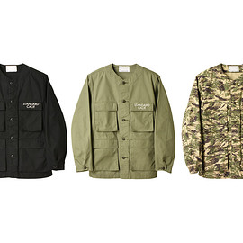 STANDARD CALIFORNIA - SD No Collar BDU Jacket