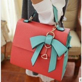 bow handbag - Unique dimensional bow handbag
