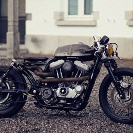 Zadig Motorcycles - One Punch Mickey Vintage gypsy dragster