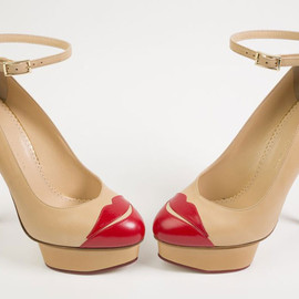 Charlotte Olympia - Kiss me Delores Pumps, 2012 for Shoes Obsession: Extraordinary heels