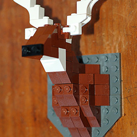 TheSquareNecessities - Unofficial Taxidermy Deer LEGO Kit