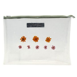 TALKING ABOUT THE ABSTRACTION - Flower Skelton Clutch Bag