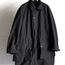 SWEDEN ARMY - SWEDEN ARMY M59 COAT BLACK