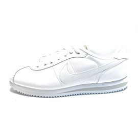 Nike - Nike Cortez Basic Leather White/White/Gray