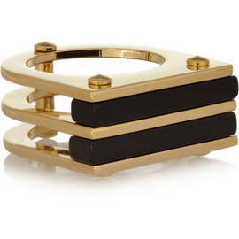 Marc by Marc Jacobs - Windows gold-tone resin ring