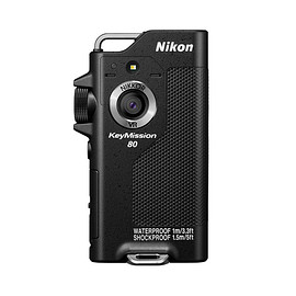 Nikon - KeyMission 80 Black