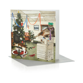 Tate - Tate RCA Christmas Cards Fat Cats (6 cards)